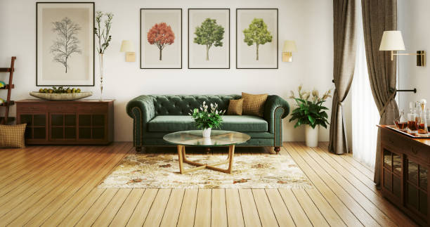 The first thing you should do is move any bookcases, wardrobes, or other large furniture against any walls that are shared with neighbors. When doing this, however, you should leave a small gap between the furniture and the wall, as this will make sure that it doesn't vibrate with noise and damage the wall. Having a variety of softer materials around a room can also prove to be quite helpful in this regard. Some of the most obvious examples of this are sofas, rugs, curtains, and much more. The main reason for this is that soft materials are much more effective at absorbing sound than harder ones. This should mean that having a large number of these can be quite helpful for you. As an added bonus, you'll be able to add a significant amount of style to the room when doing so. Despite being a simple approach, this can be much more effective than you might think.