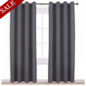 very popular blackout curtains on Amazon