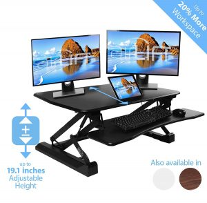 AIRLIFT Sit Stand Desk Converter