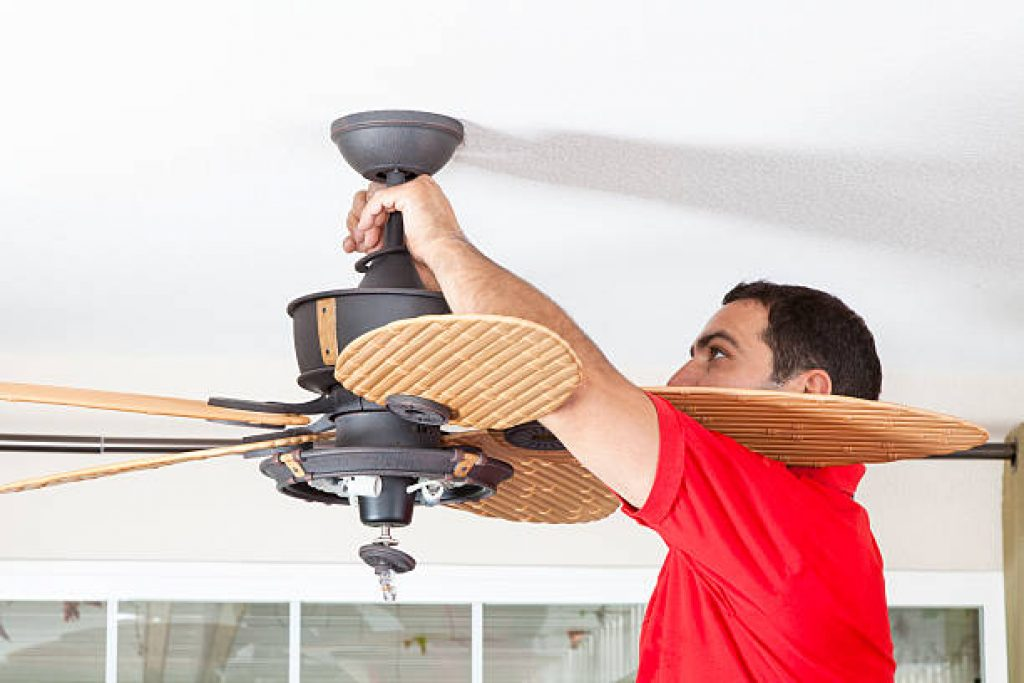 Connecting The Fan & Ceiling Mount