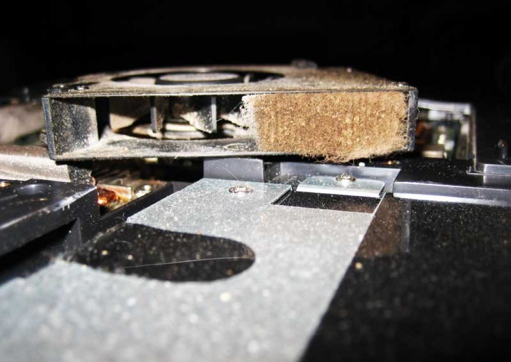 eliminate any dust in your laptop